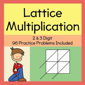 Lattice Multiplication (2-3 Digit)
