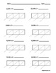 Lattice Multiplication 3 Digit by 1 Digit - 10 Pages