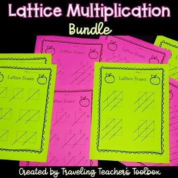 Lattice Multiplication Bundle