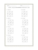 Multiplication Activity:  Practice with the Lattice Method!