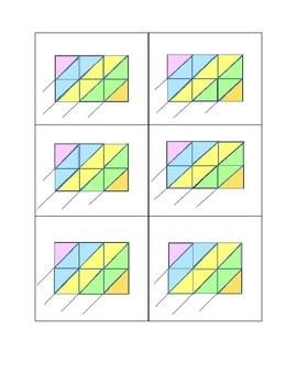 Lattice Multiplication Grid 3 x 2