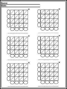 Lattice Multiplication--- Introduction Worksheet