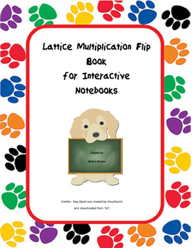 Lattice Multiplication Layered Book