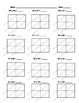 Lattice Multiplication 2 Digit by 2 Digit - 10 Pages