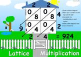 Lattice Multiplication Poster