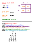 Lattice Multiplication Rules (Student Notes)