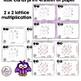 Lattice Multiplication Task Cards Math Center 2 x 2 Multiplication Lattice Set 2