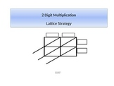 Lattice Strategy Two Digit Multiplication PowerPoint with