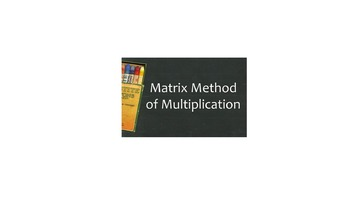 Lattice and Matrix Multiplication
