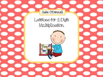 Lattices for Multiplying 2-Digit Numbers
