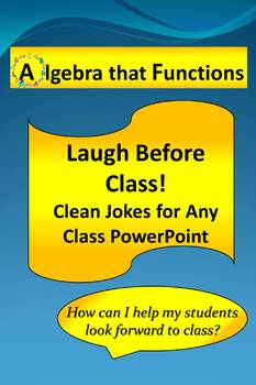 Classroom Management Laugh Before Class Power Point Clean Jokes