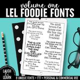Laugh Eat Learn Fonts // Volume 1