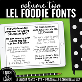 Laugh Eat Learn Fonts // Volume 2