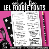 Laugh Eat Learn Fonts // Volume 5