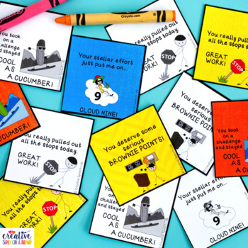 Laugh & Learn: Figurative Language Brag Tag Freebie