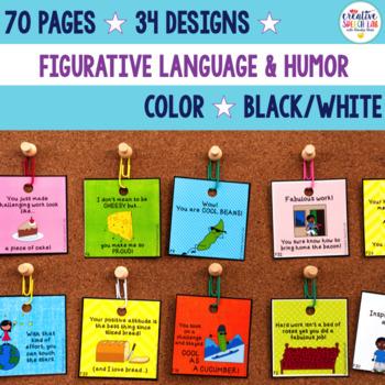 Laugh & Learn: Figurative Language Brag Tags