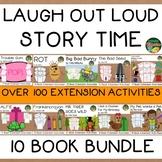 Laugh Out Loud 10 Book Bundle  Over 150 Extension Activiti