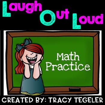 Laugh Out Loud Math Practice {Solve Math Problems & Laugh