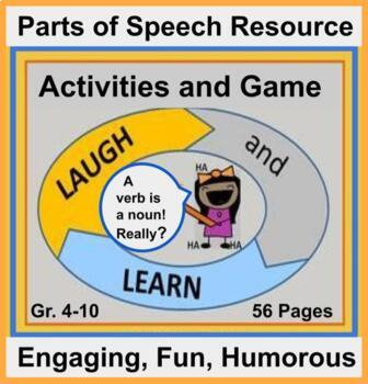 Laugh and Learn: Humorous, Creative, Engaging  Parts of Speech Activities