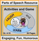 Laugh and Learn: Humorous, Creative, Engaging  Parts of Sp