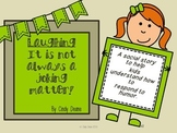 Social Stories for Autism: Laughing--It is not always a joking matter!