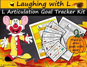 Laughing with L Goal Tracker Kit: Track L Articulation Goa