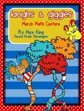 Laughs and Giggles: March Math Centers