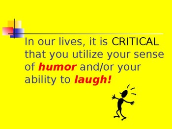 Laughter: Medicine for Your Funny Bone!
