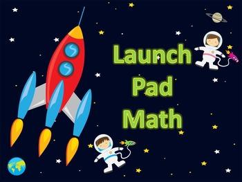 Launch Pad Math - a precursor to Rocket Math for K-1