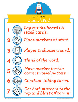 Launch Pad abstract au and aw Phonics Game