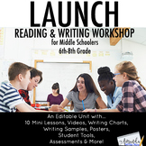 Launch Reading and Writing Workshop in the Middle School C