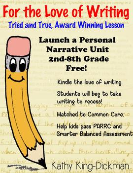Launch a Personal Narrative Writing Unit