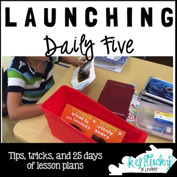 Launching Daily Five