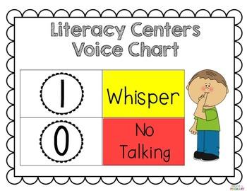 Launching Literacy Centers-FREEBIE Anchor Charts