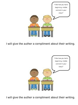 Perfect Partnerships: Expectations for Writing Partners (Lucy Calkins style!)