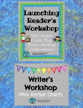 Launching Reader's & Writer's Workshop [Mini-Anchor Chart BUNDLE]