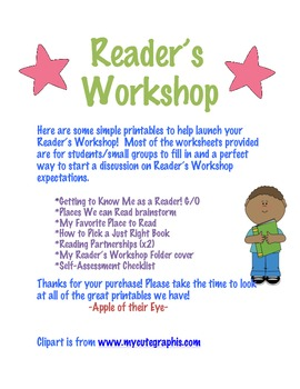 Launching Reader's Workshop Bundle