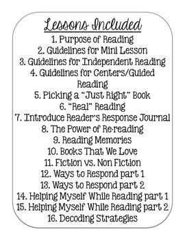Launching Reader's Workshop {lower grades}