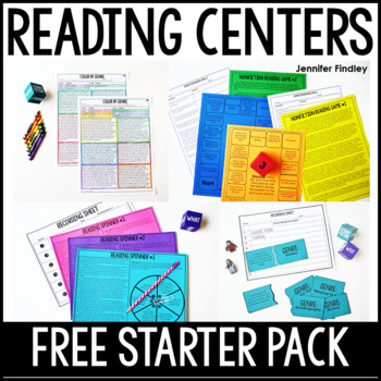 Launching Reading Centers: 4th and 5th Grade Reading Centers Starter Pack