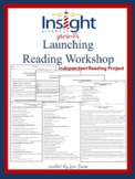 Launching Reading Workshop Independent Study Project Grades 3-5