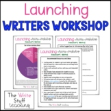 FREE Launching Writer's Workshop