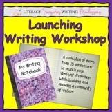 Launching Writer's Workshop--A Unit of Minilessons to Buil
