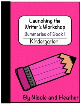 Launching Writer's Workshop - Kindergarten