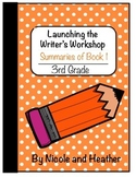Launching Writer's Workshop - 3rd Grade