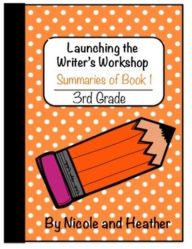 Launching Writer's Workshop - 3rd Grade