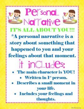 Launching Writer's Workshop and Personal Narrative Unit (CC Aligned)
