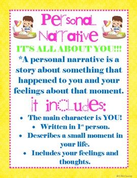 Personal narrative essay unit plan
