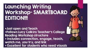 Launching Writing Workshop Lucy Calkins Grades 2-5- SMART Edition