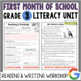 Launching the Reader's & Writer's Workshops: Grade 3...2nd