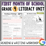 Launching the Reader's & Writer's Workshops: Grade 4...2nd